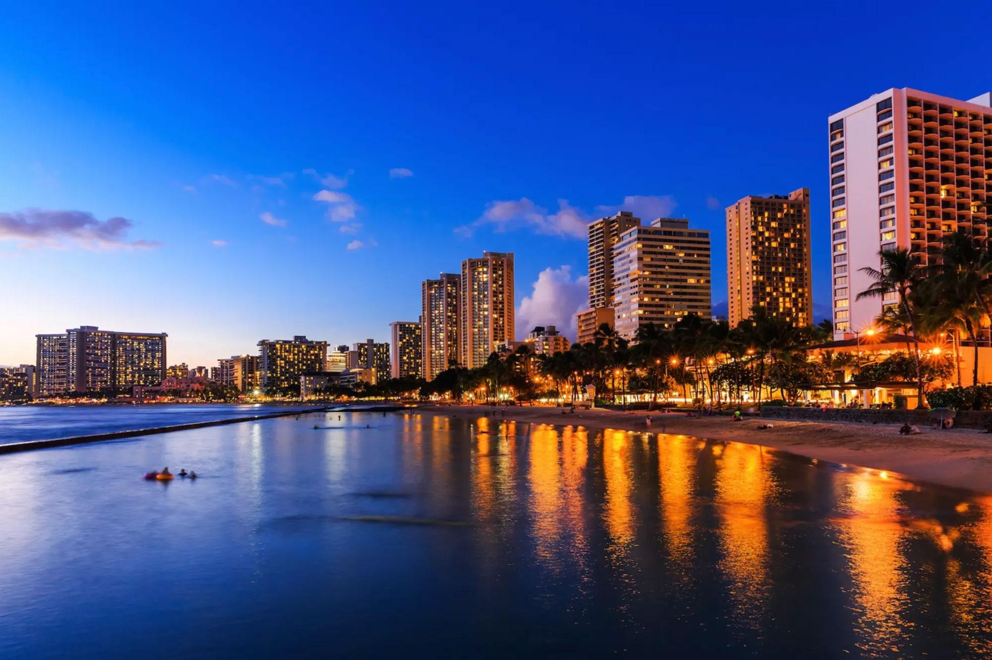 "Waikiki - Waikiki was once the ""playground of Hawaiian royalty"
