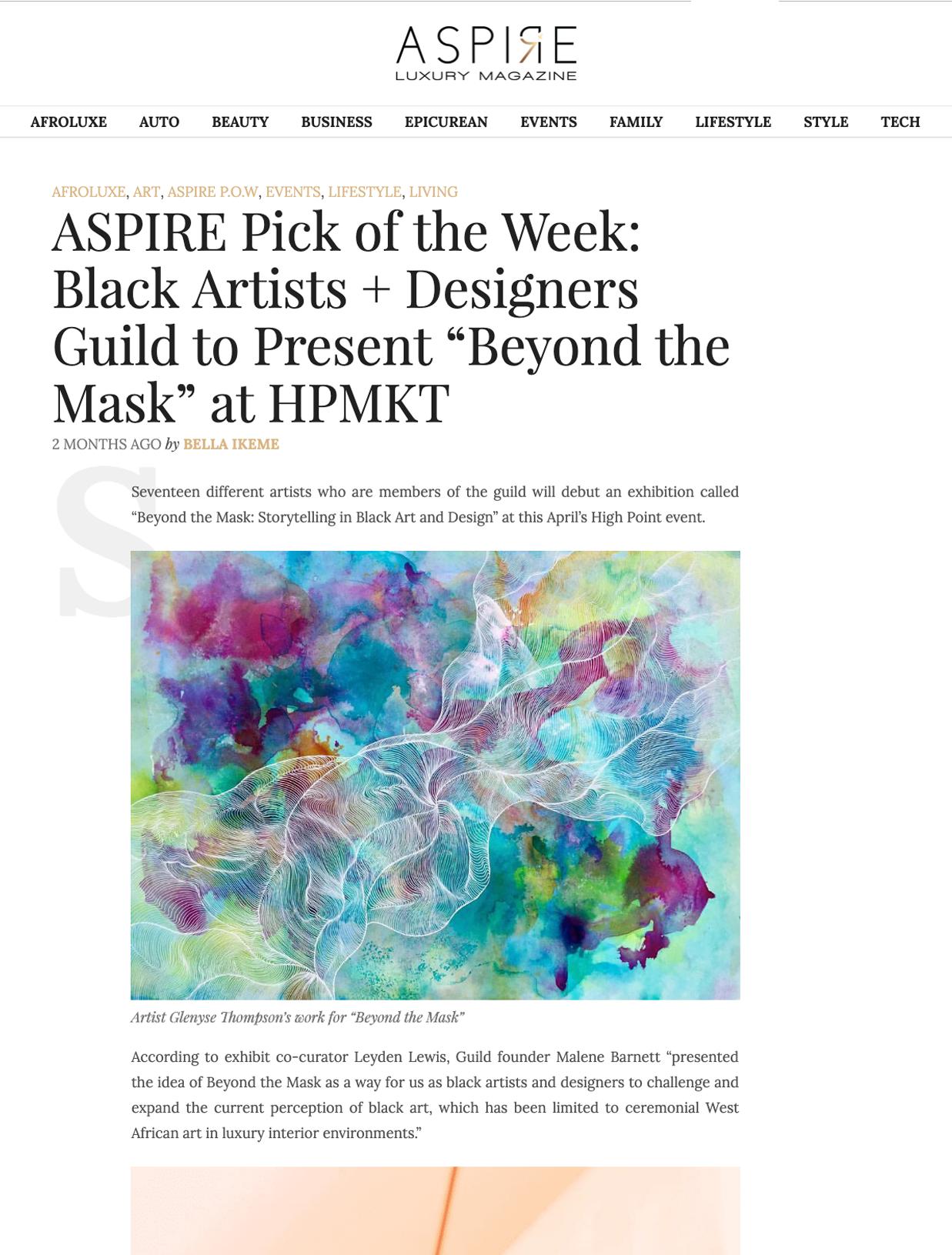 AspireLuxuryMag.com • Apr 2019