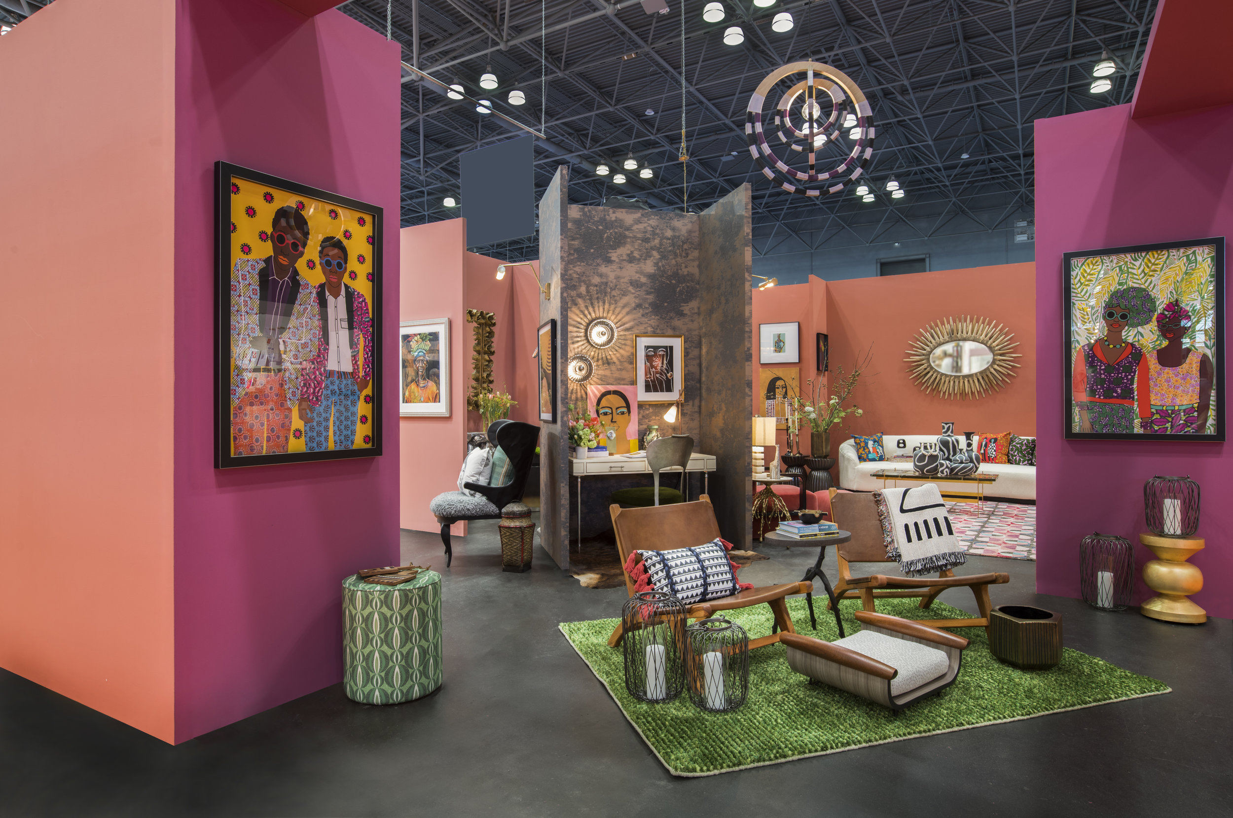 Transcend Booth at NY Now Designed by Beth Diana Smith & Kiyonda Powell. Photo Rayon Richards