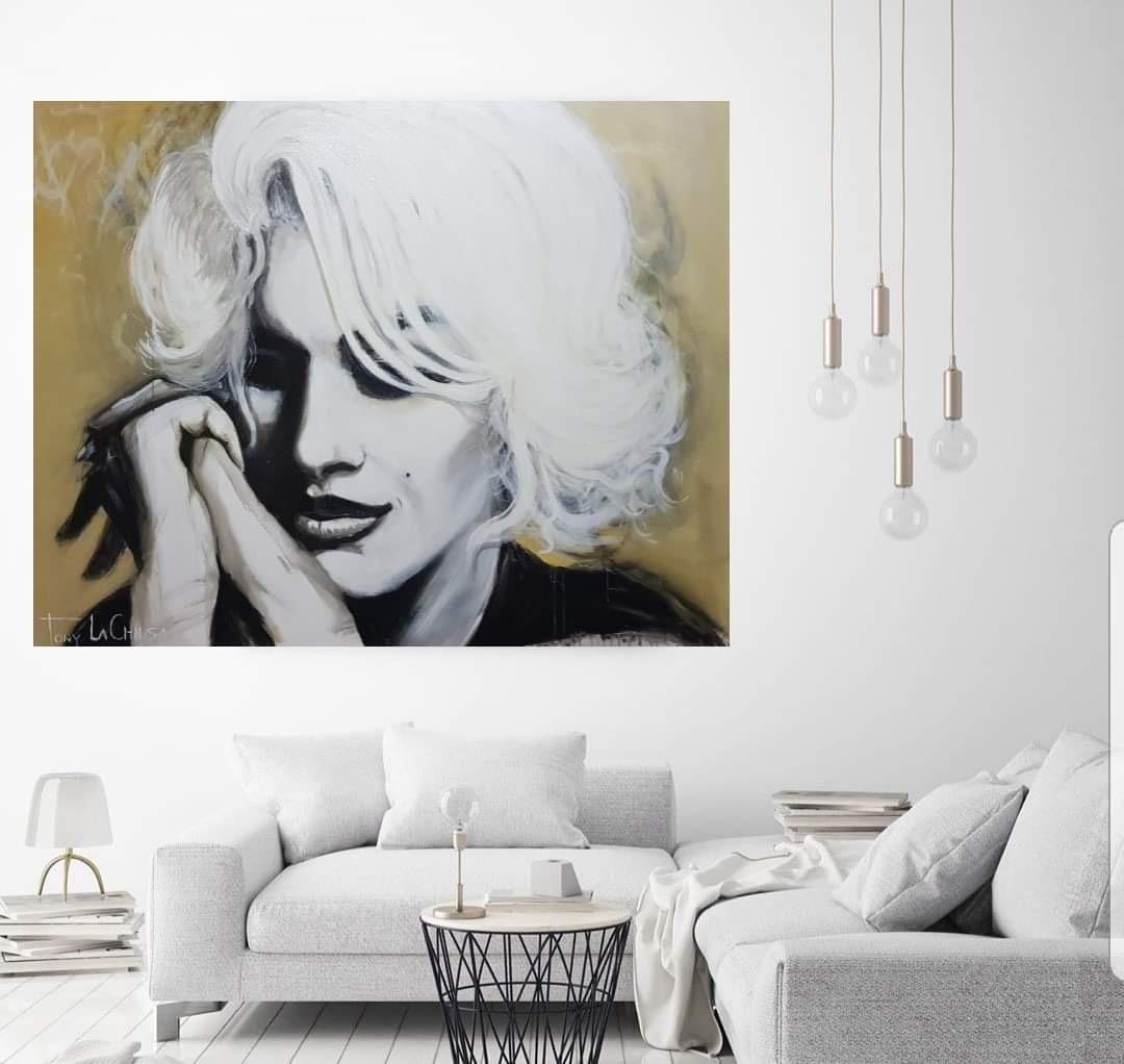 Marilyn Monroe Original Acrylics on Canvas painting 152cm x 122cm - $2300