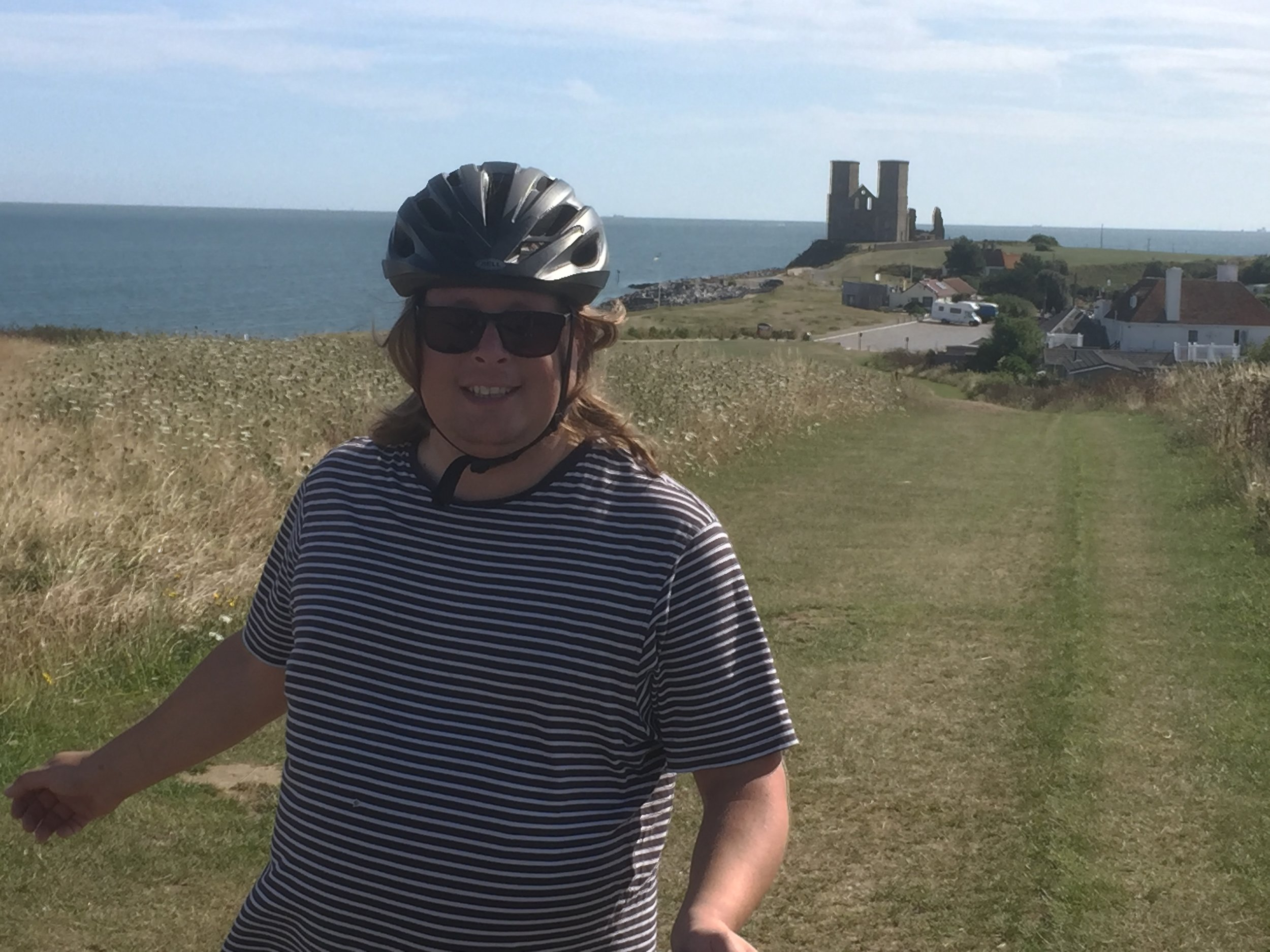 """Reculver!"" (It's only a model…)"