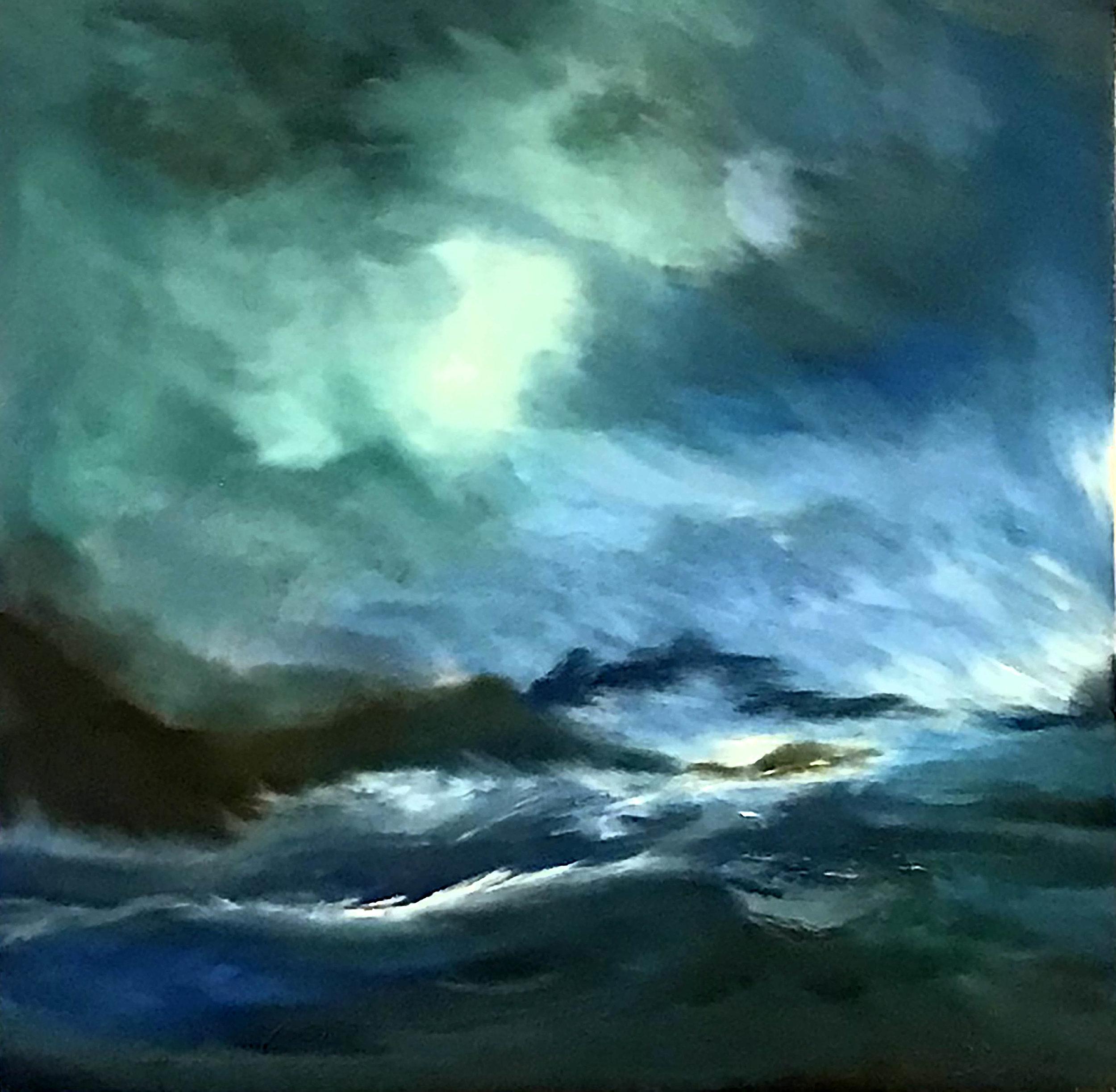 Coastal Storm,  Oils, Sold