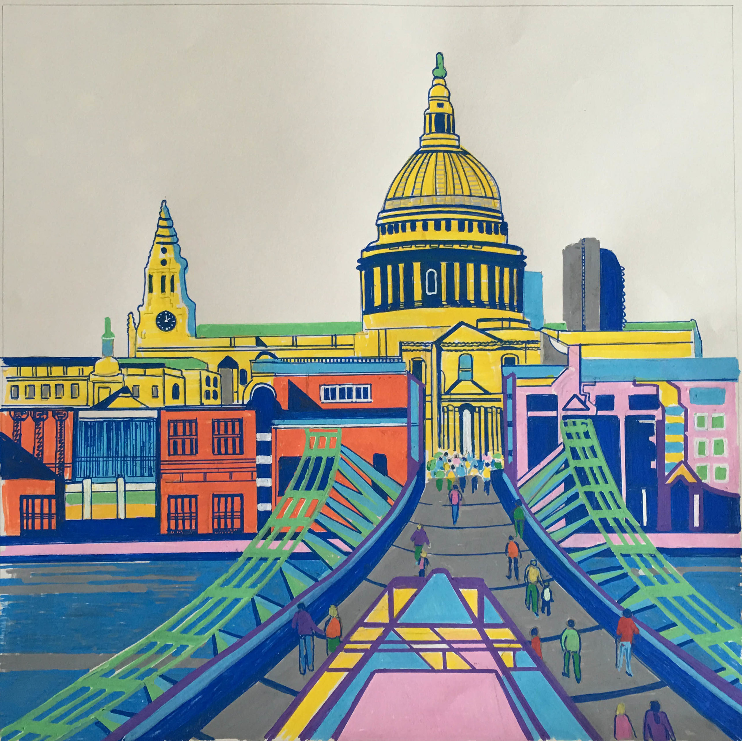 St Paul's Cathedral from Tate Modern