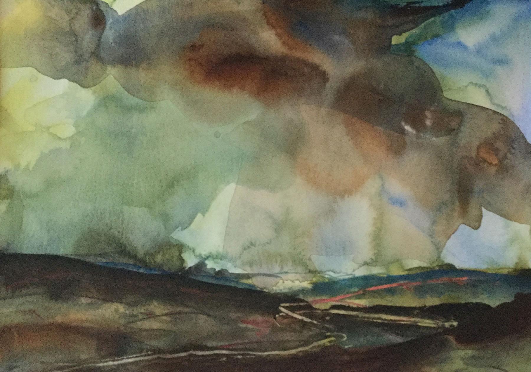North Essex , Watercolour, 21 x 29 cm