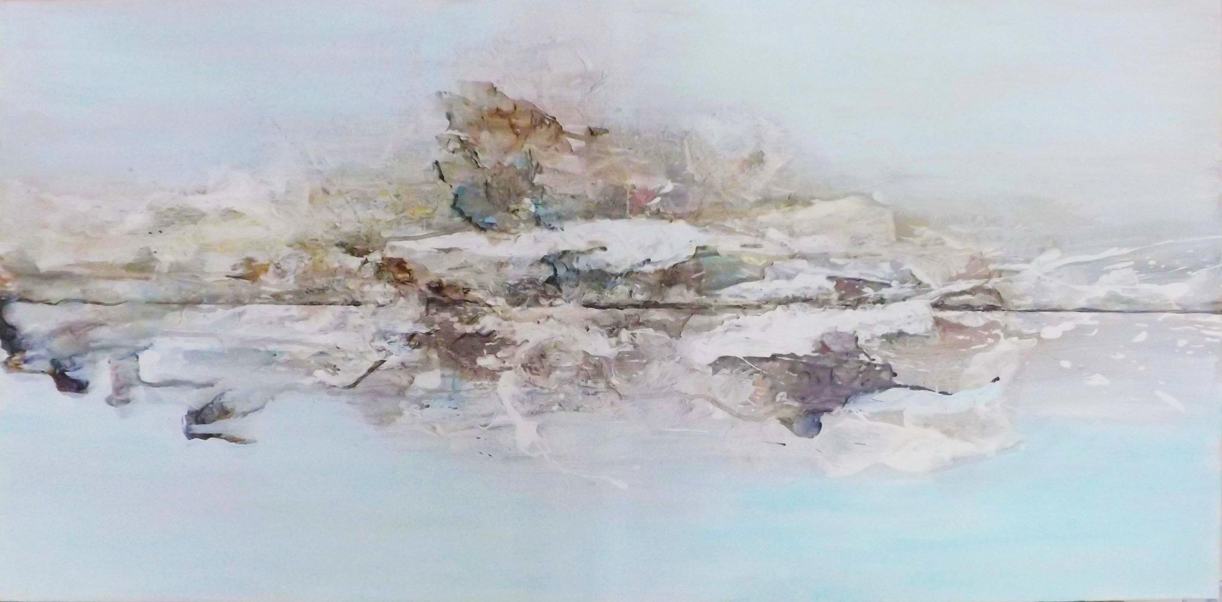 The Last Polar Bear , Acrylic, 40 x 100 cm