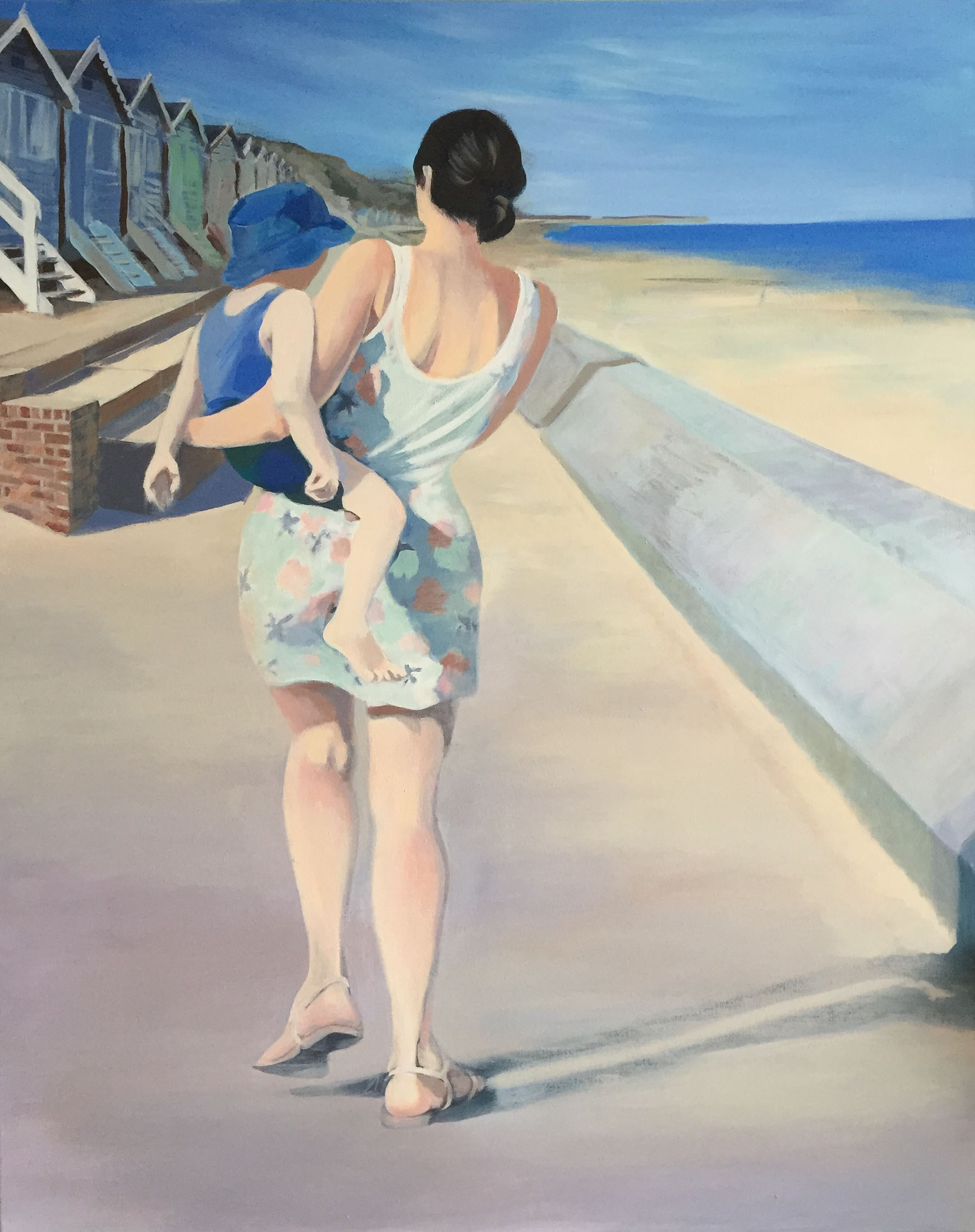 Last Days of Summer , Acrylic on canvas, 82 x 102 cm