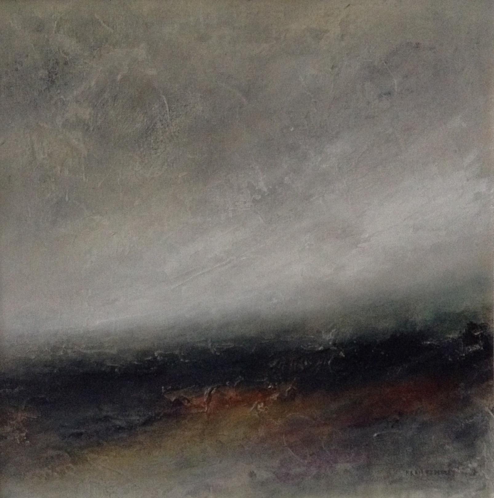 Homeland , Acrylic on canvas board, 62 x 62 cm