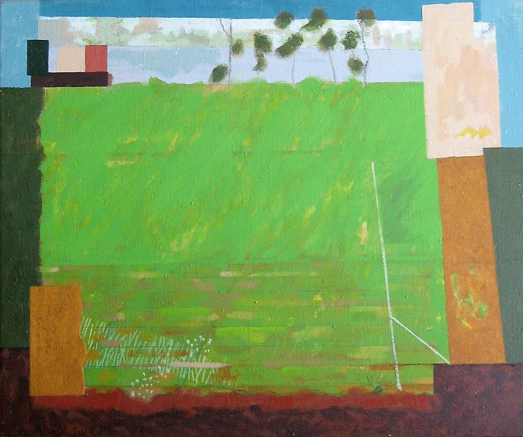 Green-Sward 2 , Oil on canvas, 51 x 61 cm