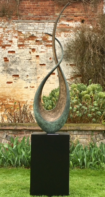 Notes in Music II , Bronze, Edition of 12, 160 x 45 x 20 cm without plinth