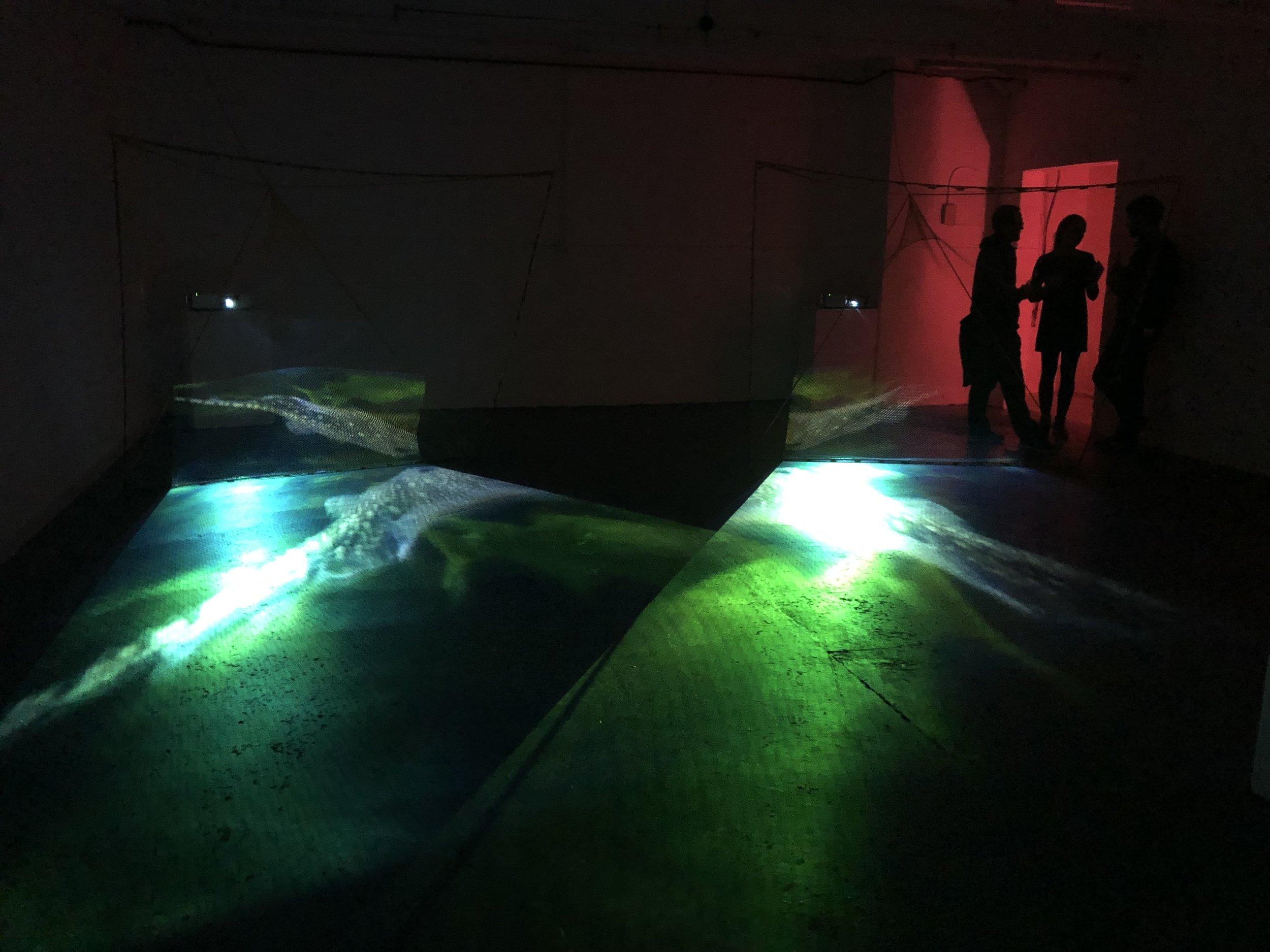 Fishing for Skate-Ra (an installation) by David Blyth.jpg
