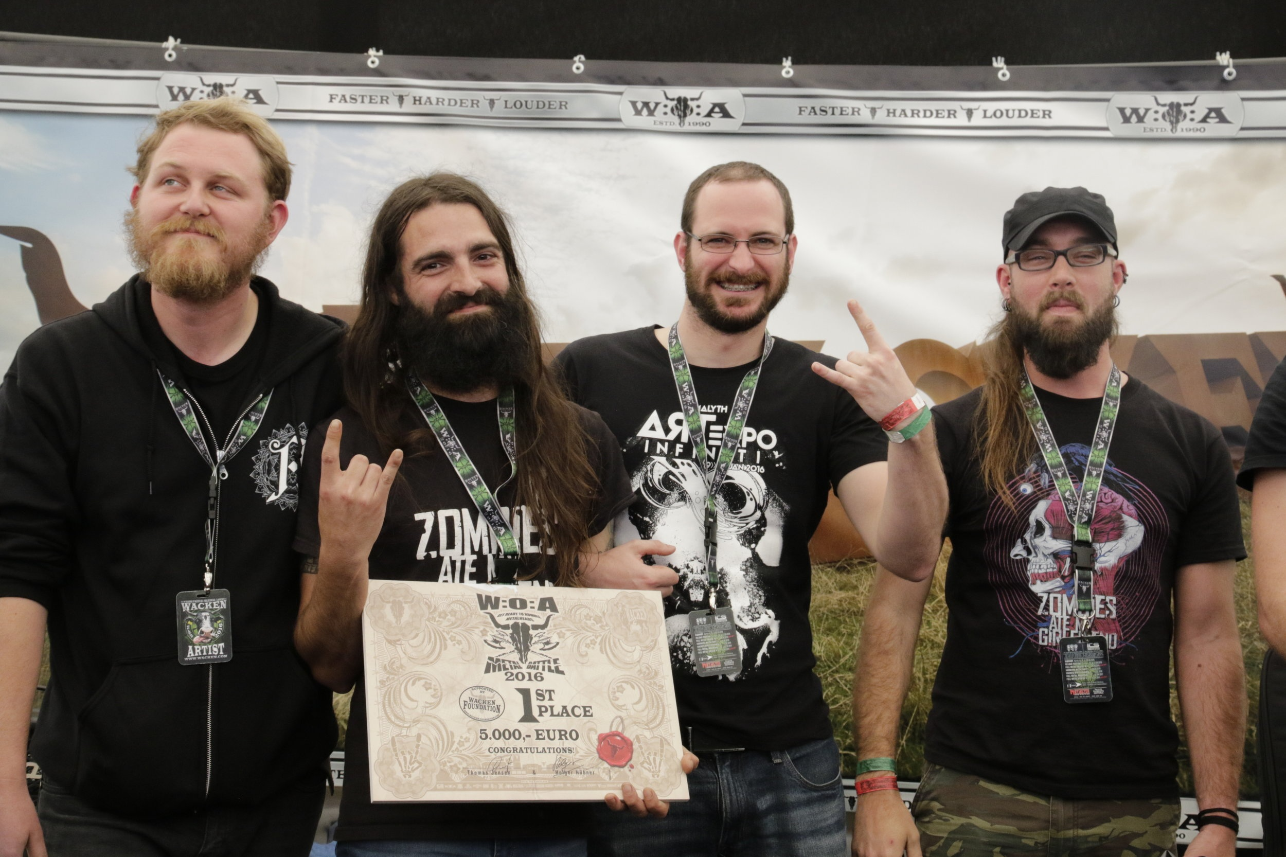 ZOMBIES ATE MY GIRLFRIEND - South African Wacken Metal Battle Winners