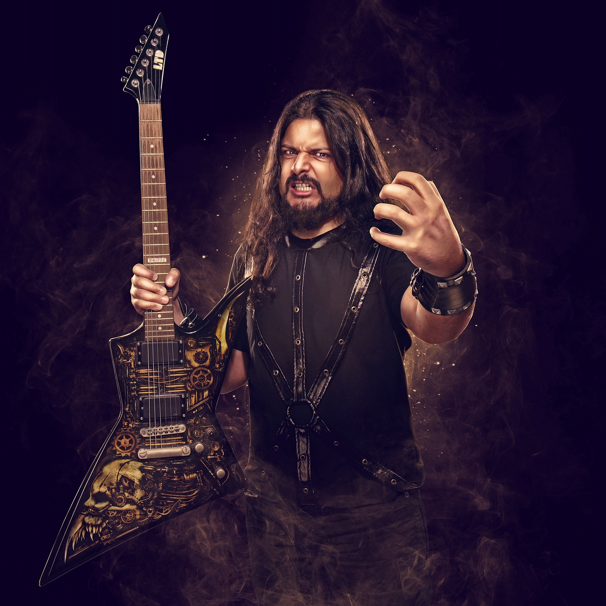 SAHIL MAKHIJA, (DEMONSTEALER)   Frontman, Demonic Resurrection & Host, Headbanger's Kitchen (India)
