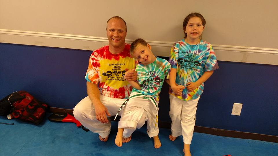 Families - Family classes at HTMA is a fun, age-friendly class for all belts. These classes include forms, sparring, kicks and punches and a fun dodgeball game at the end of class!
