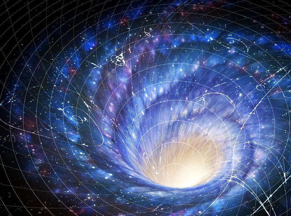 Southworth Planetarium galaxy spacewarp