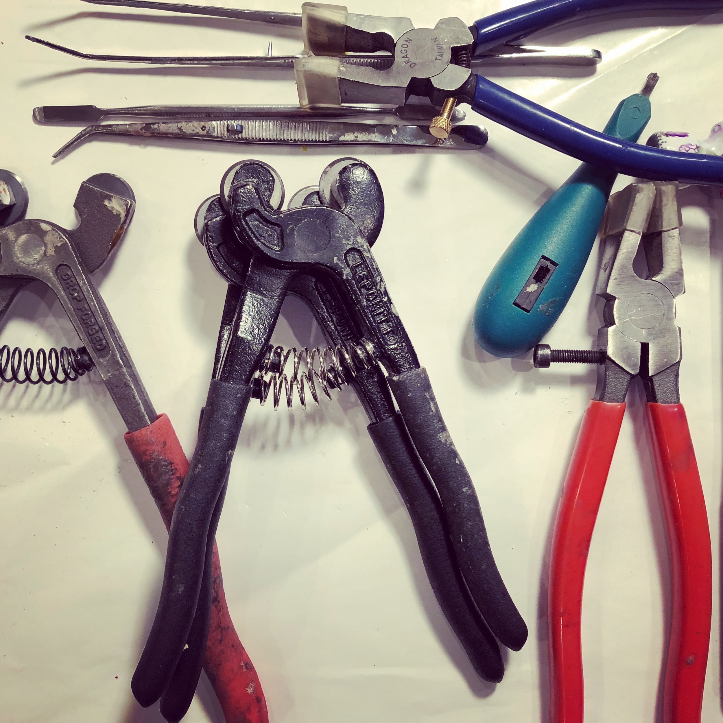 various tools to get the job done
