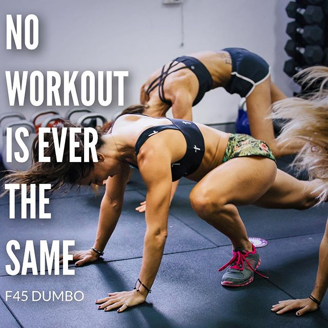 Dynamic workouts are the best way to to transform your body and at F45, no workout is ever the same. Prepare yourself Dumbo.. we are coming 💪🏻