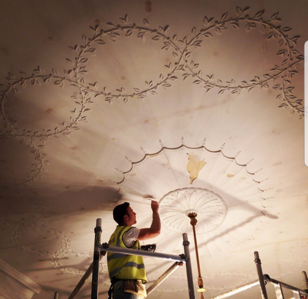 Heritage ceiling restoration