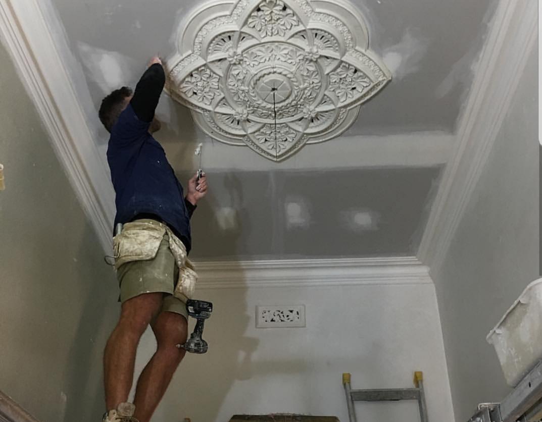 Decorative ceiling rosette