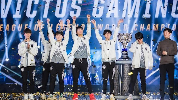 China beat Europe in the League of Legends Worlds 2018 final
