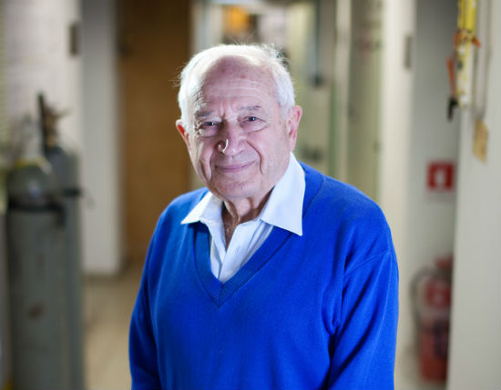 Prof. Prof. Raphael Mechoulam from the Hebrew University, who first identified THC