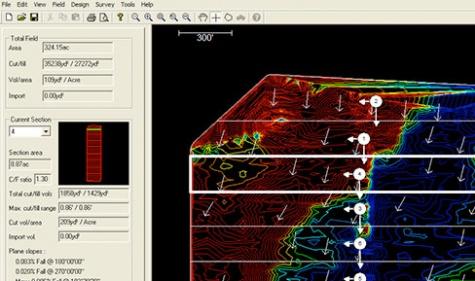 TOPCON Ag-Form 3D - Software para levantamientos, interpretación y diseños Topográficos. Especial para levantamientos en vehículos de alta densidad por área y con capacidad de realizar gran diversidad de diseños a pendiente variable.