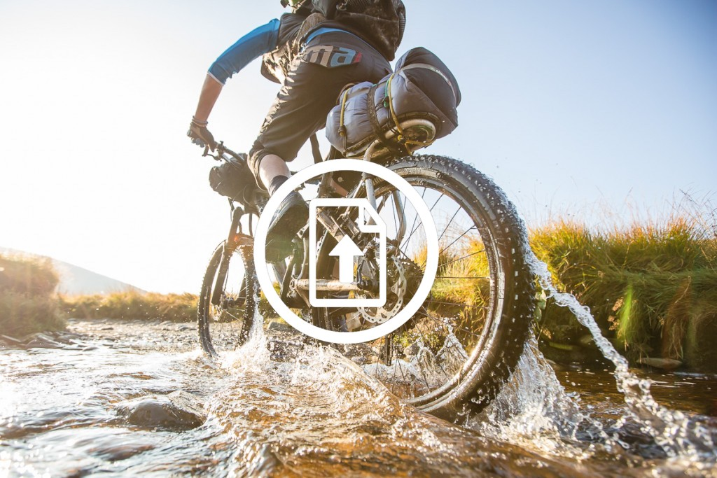 Bikepacking / Bikerafting Route