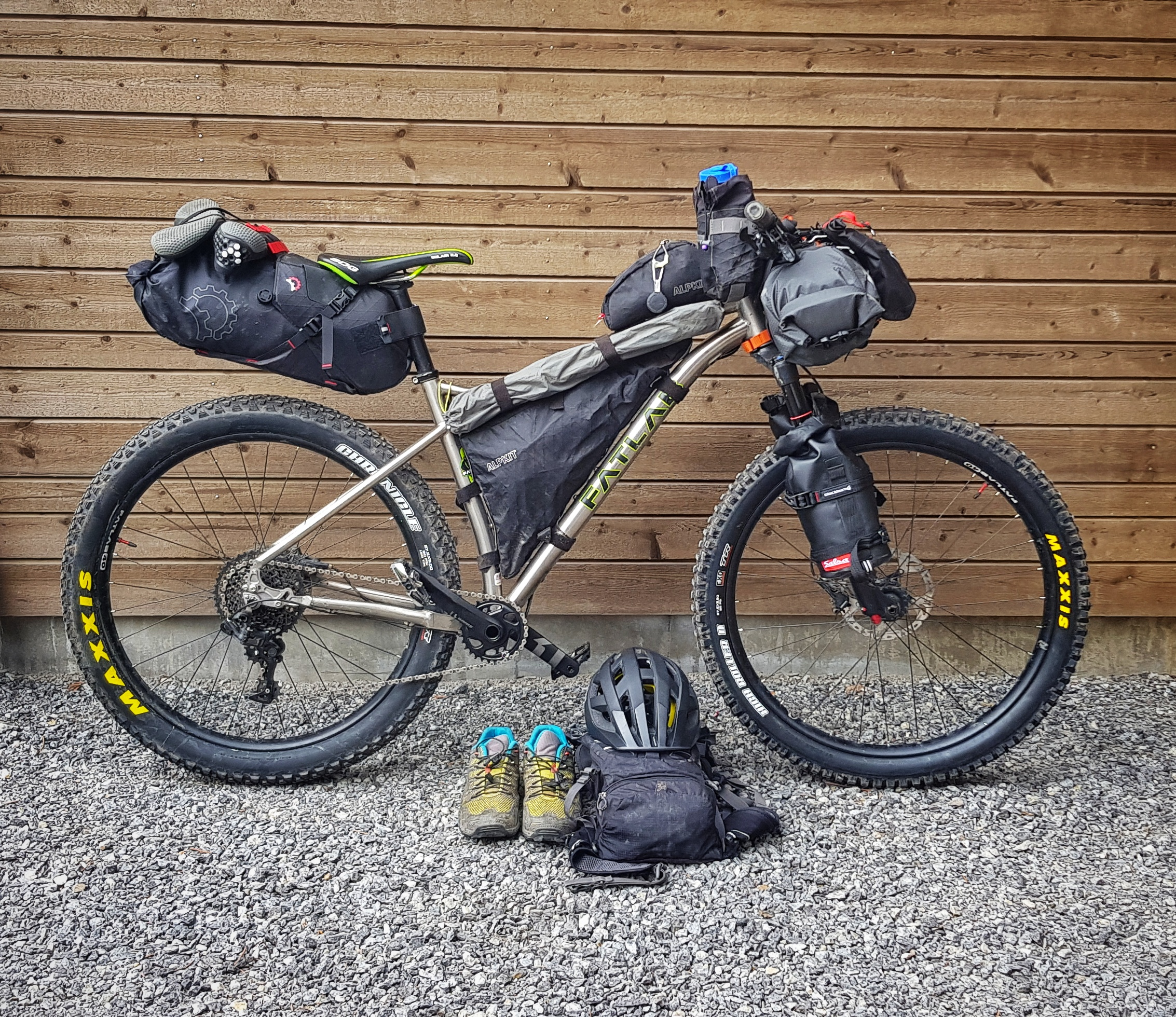 What got you into Bikepacking? - I have always been in to climbing and camping so when an unexpected invitation to go on a bikepacking trip to Mongolia.