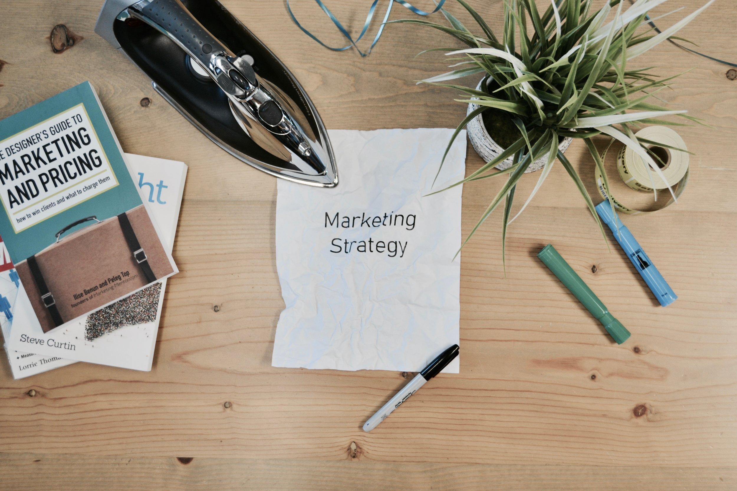 Strategic marketing consultancy -