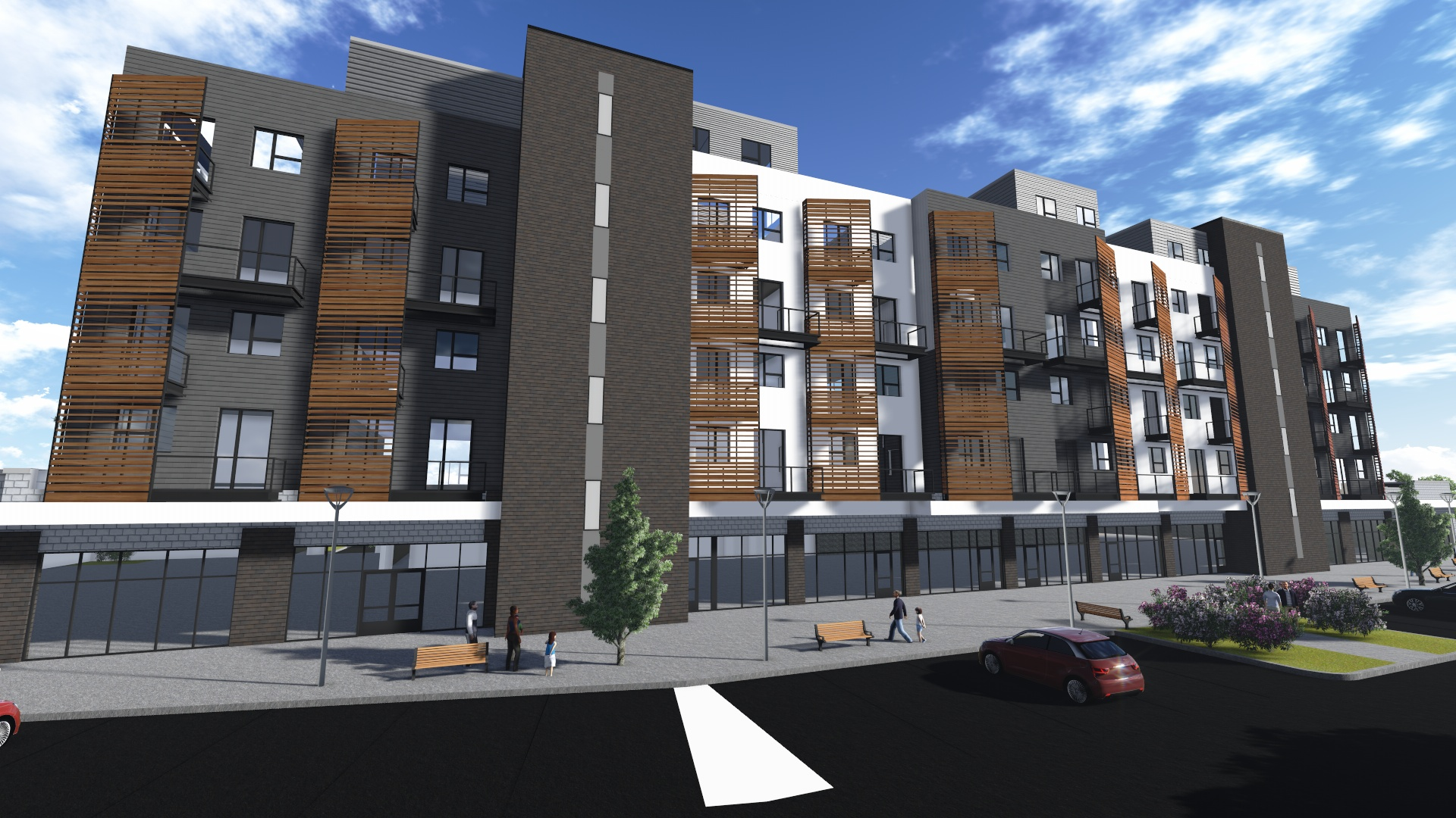 Mixed Use Commercial and Residential Development