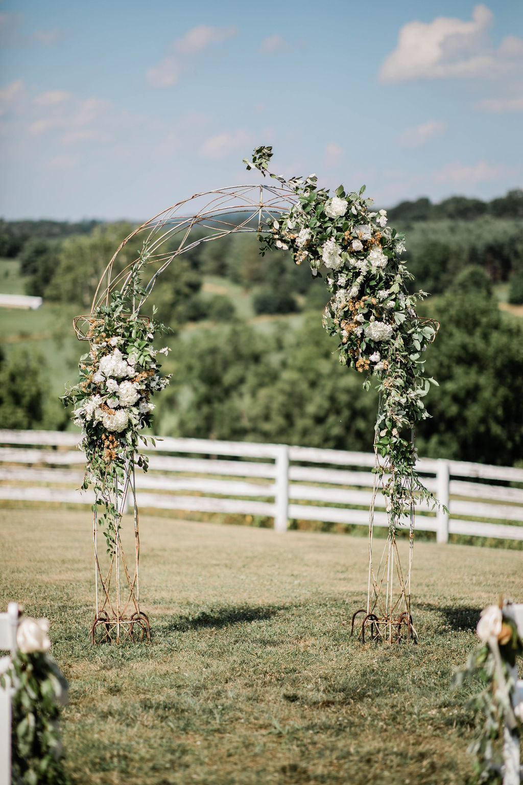 """A love to last a lifetime… - We still are nostalgic about Rachel & Patrick's dreamy summer wedding! They said """"yes"""" at the picturesque Blue Hill Farm B&B in Waterford, VA. They had a unique vision that was a true joy to make a reality. Scroll down to see all the details!"""