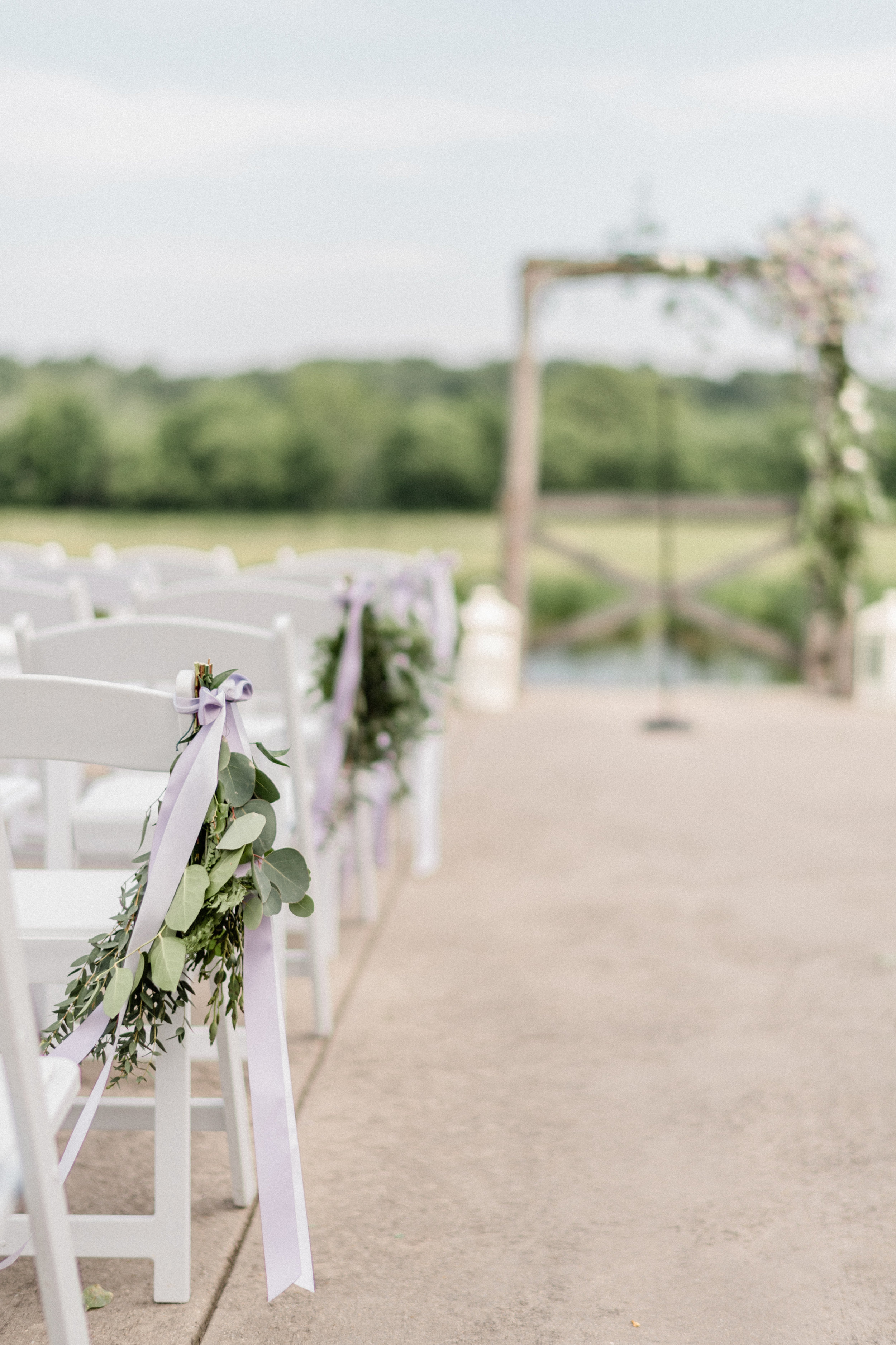 A serene setting… - This venue is so peaceful! For their ceremony, Jackie & Bryce read their own vows and listened as a friend recited a poem she wrote just for them. It was truly heartwarming.