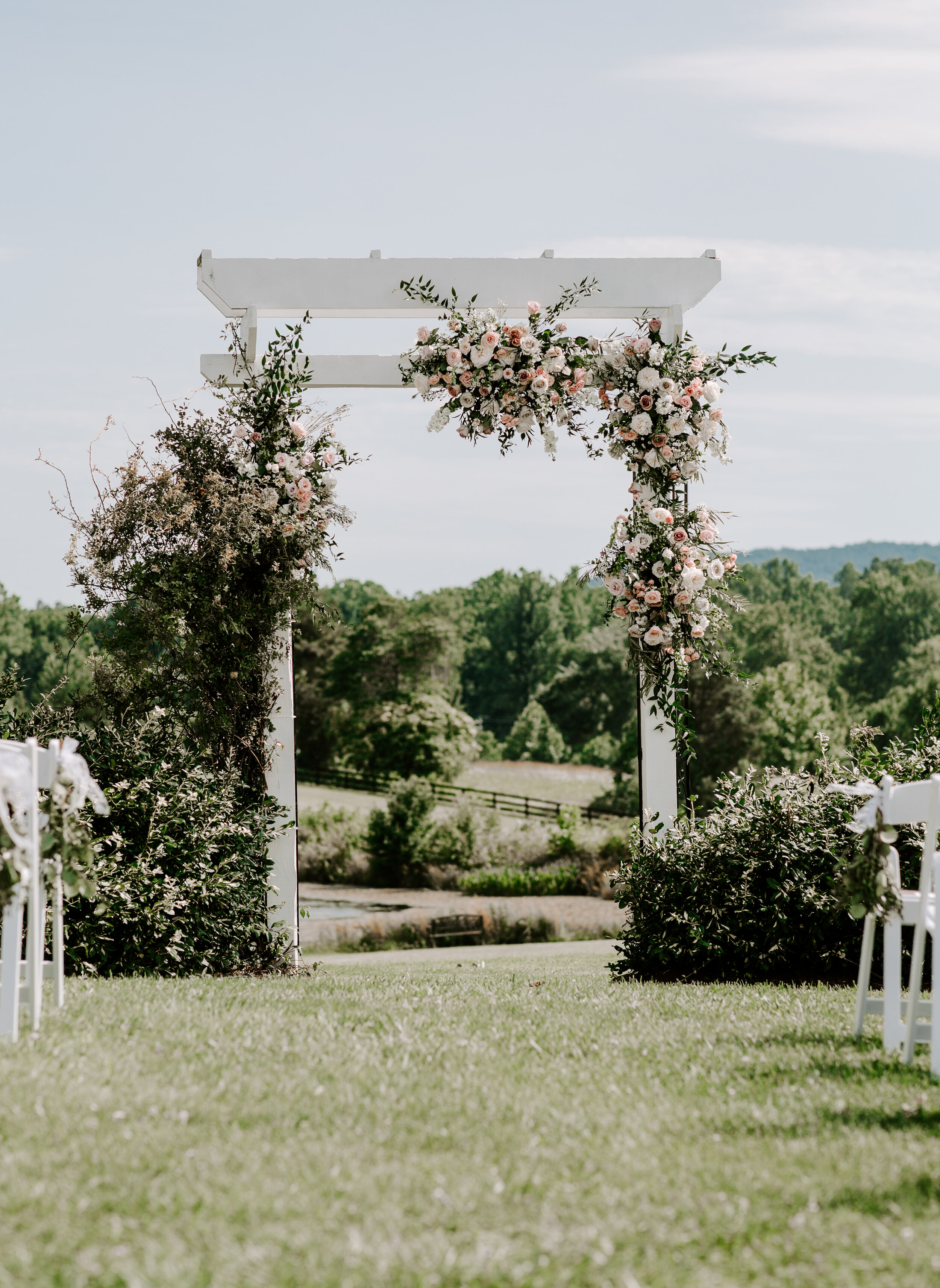 Summer Wedding - On a perfect summer day in June, Katelyn & James tied the knot at Walden Hall in Reva, VA. Scroll down to see the magic…