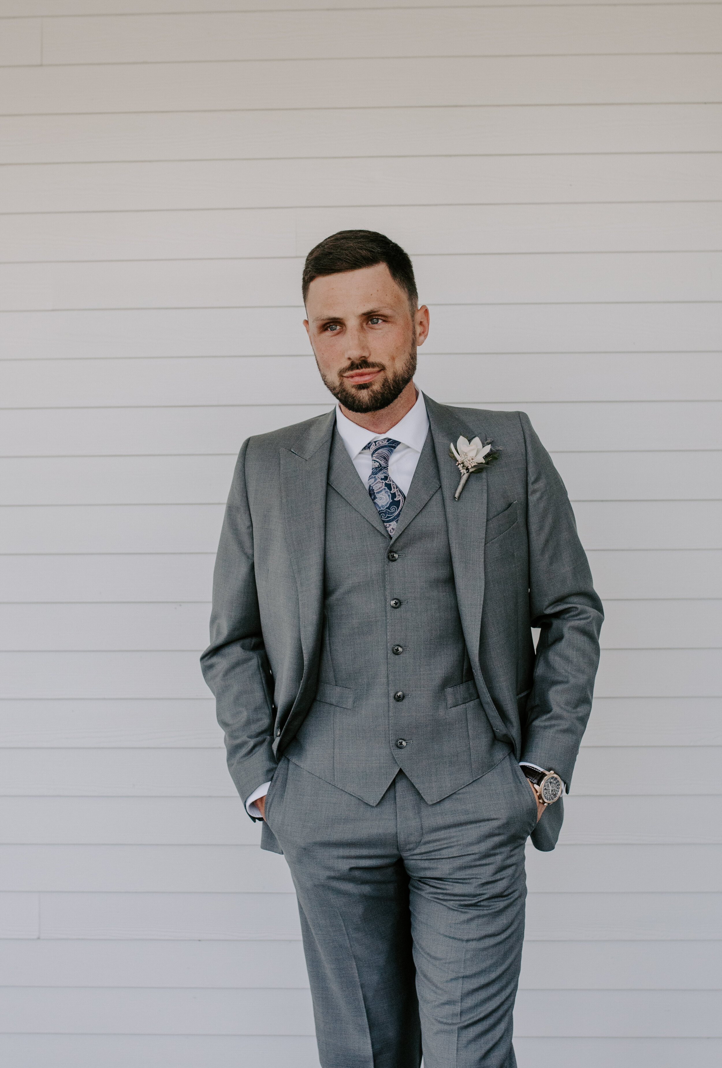 The Handsome Groom -