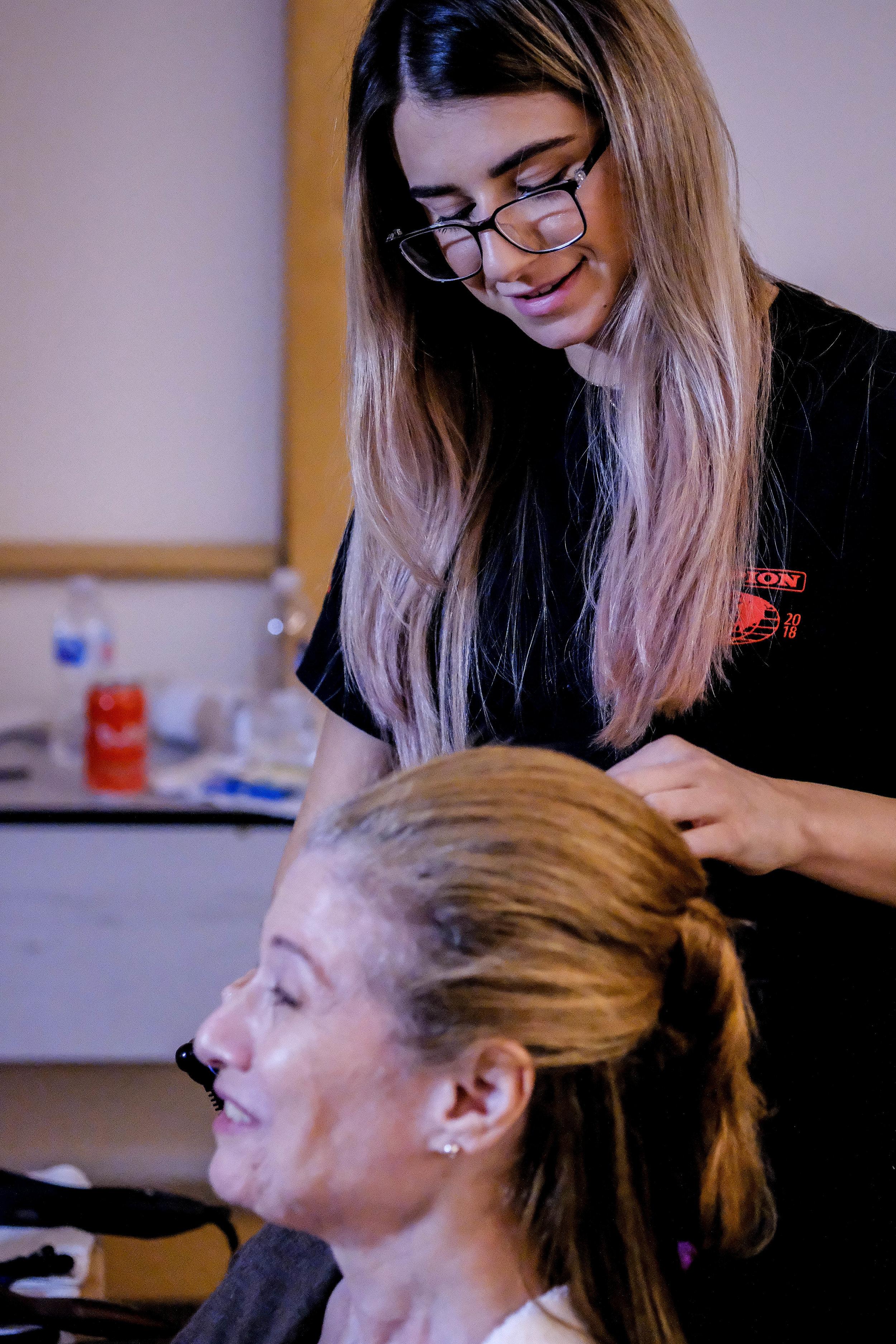 CAT MIGNANO, Hair & Makeup Assistant