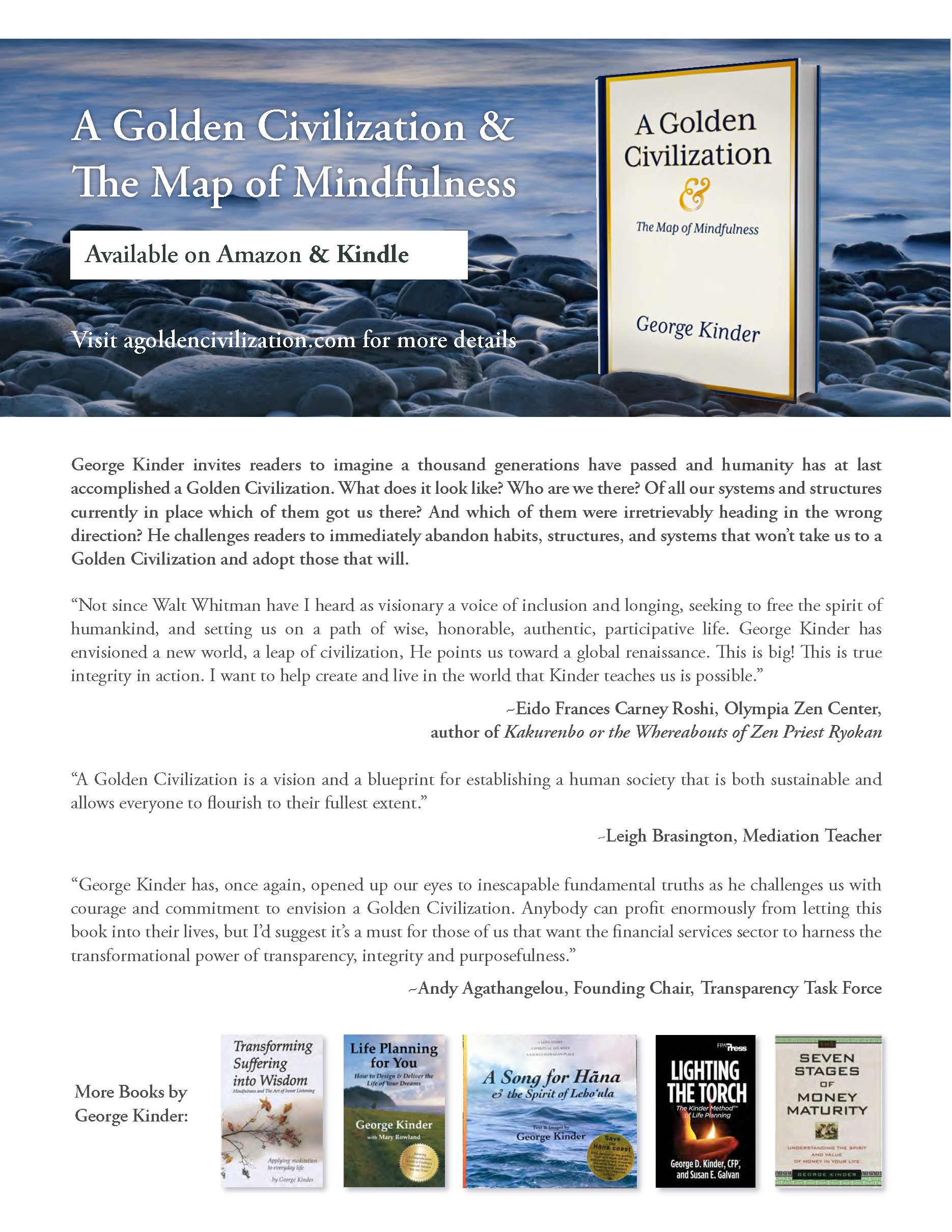 Click here to Order  A Golden Civilization and the Map of Mindfulness  on Amazon