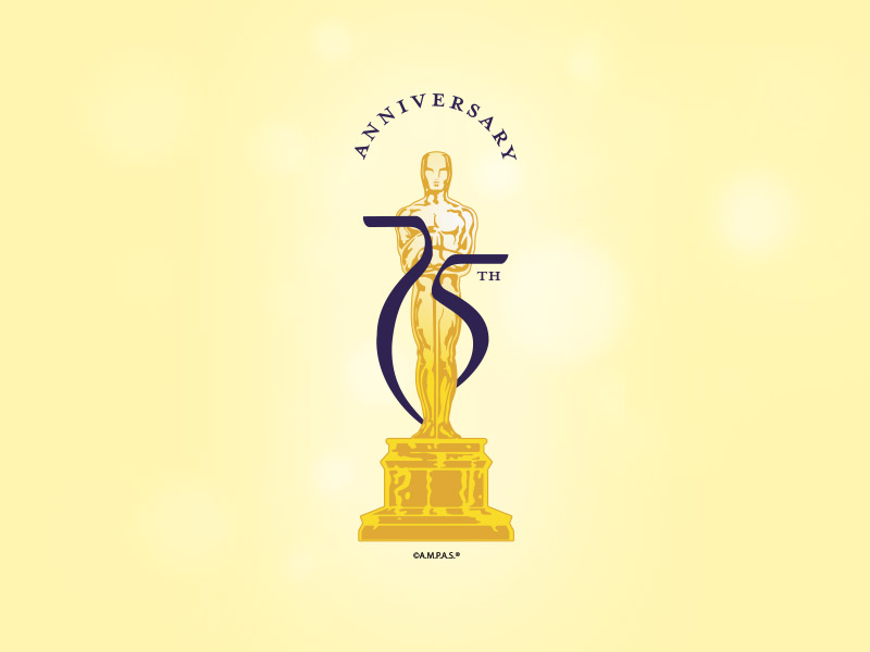 AMPAS 75th Anniversary Identity