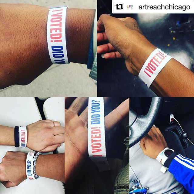 Project FIRE voters! Did you vote yesterday?  #Repost @artreachchicago with @get_repost ・・・ Building community all kinds of ways. We've dispelled disenfranchising myths about ID requirements, requirement to pre-register, and past criminal records. We all educated ourselves together about voting for judges and other lesser known elected posts. Onward! #arts #civics #citizen #vote #politicaleducation #election2018 #chicago #midtermelections #resist