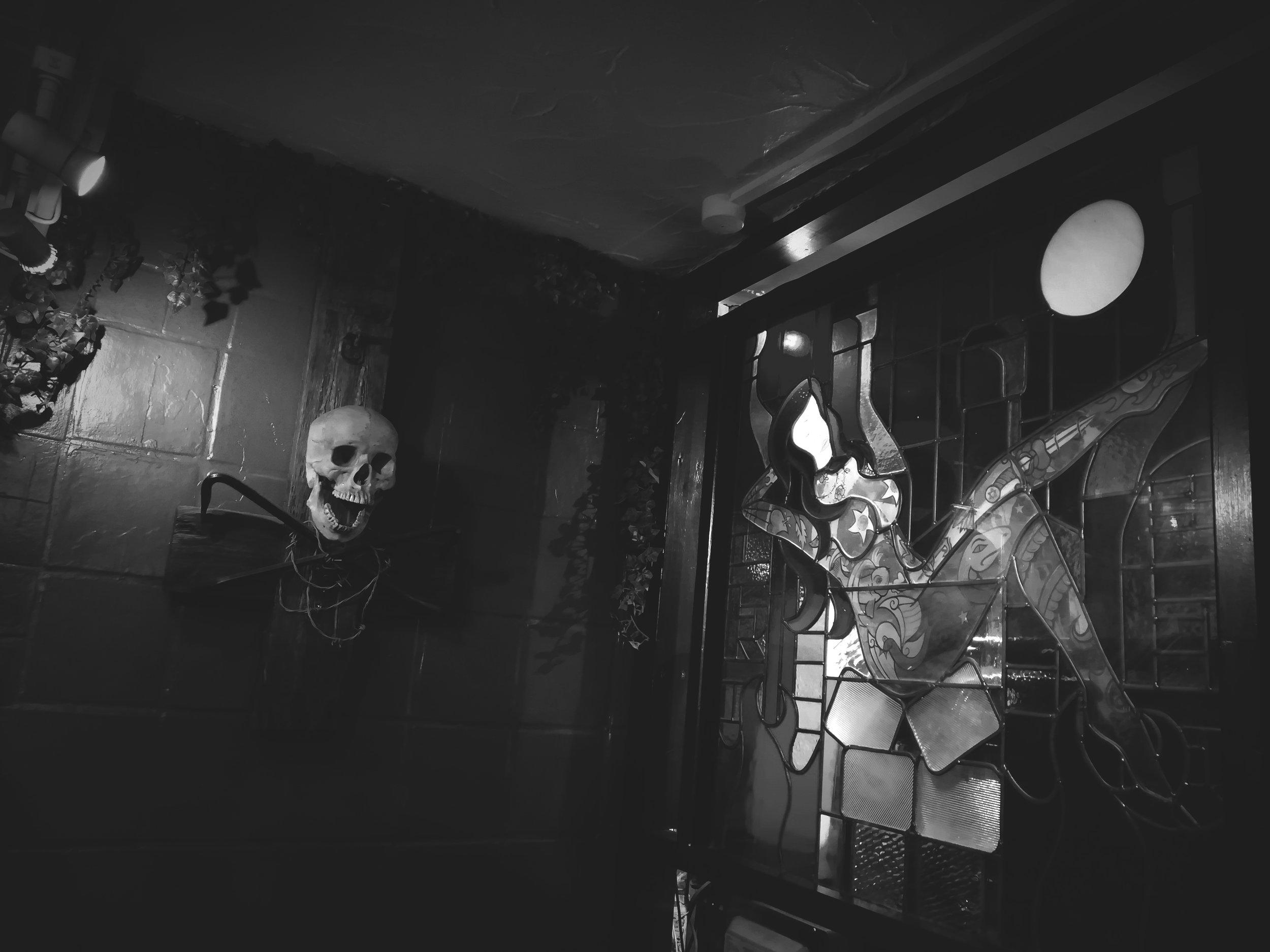 Crobar Venue Skull Cross BW.jpg