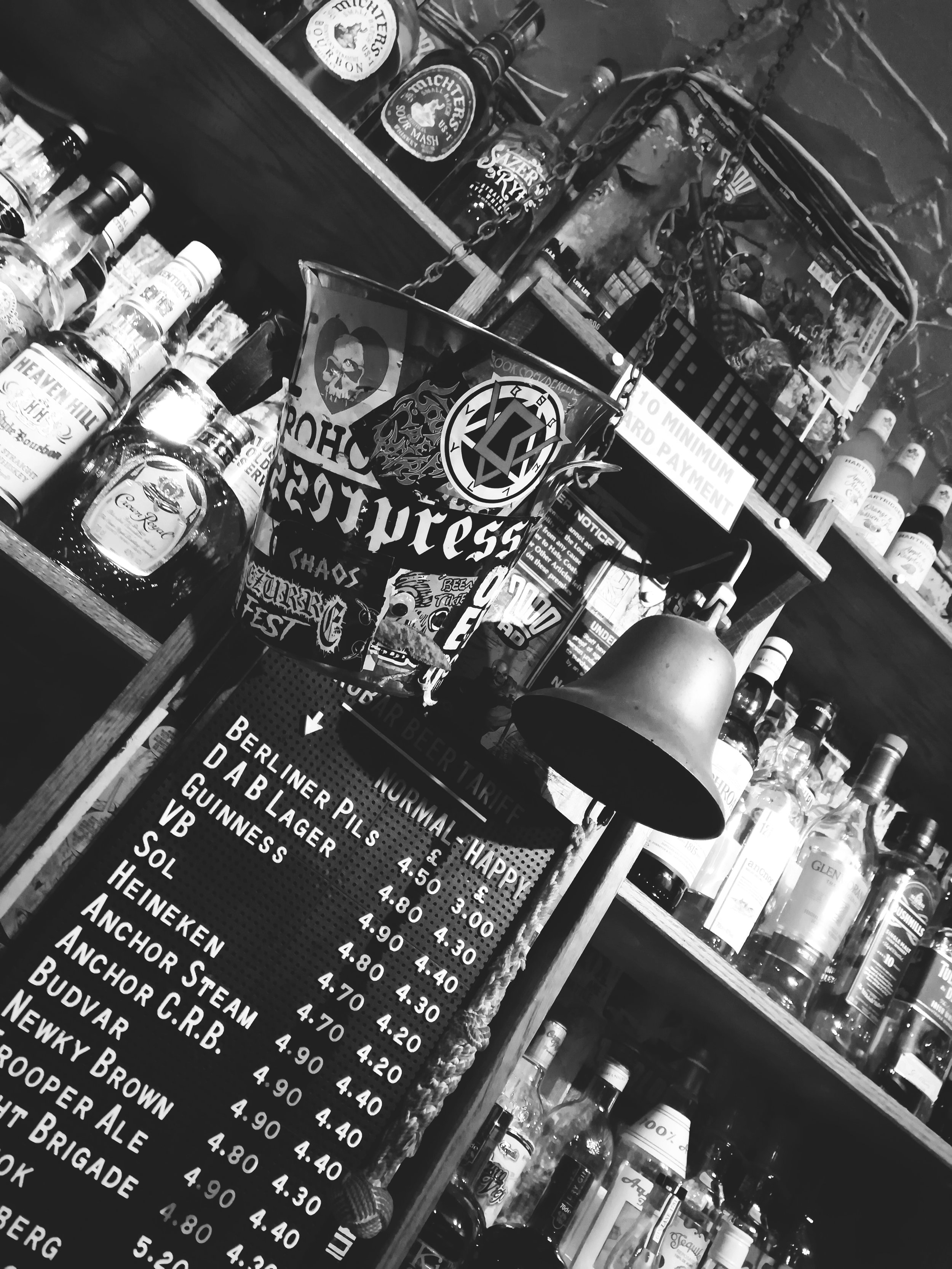 Backbar and tip jar BW.jpg
