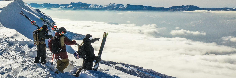 Rossignol Skis - Skiers at Chamonix
