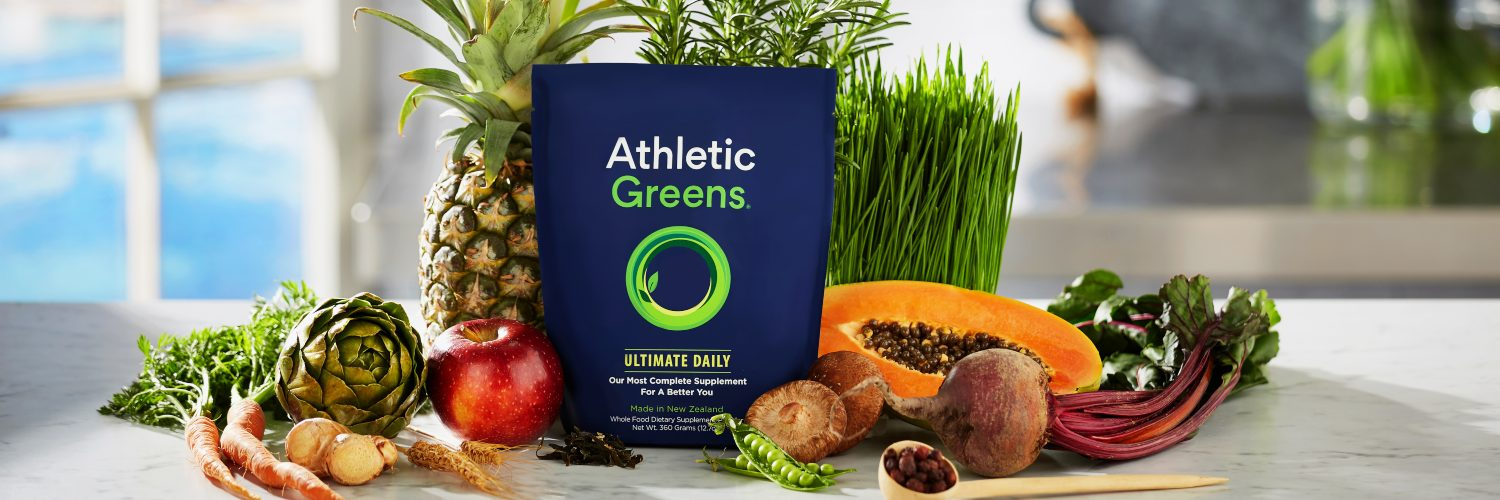 Athletic Greens package and assorted fruit.jpg