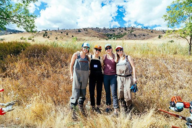 As a @conservationalliance member company, we love having the opportunity to take care of our own backyard! Our team recently helped @boulderosmp & @boulderparksrec repair ditches, rebuild trails and beautify the community garden in Foothills Community Park during the Boulder #backyardcollective.  #wekeepitwild #ourwildfuture Photo credit: @lauren.danilek