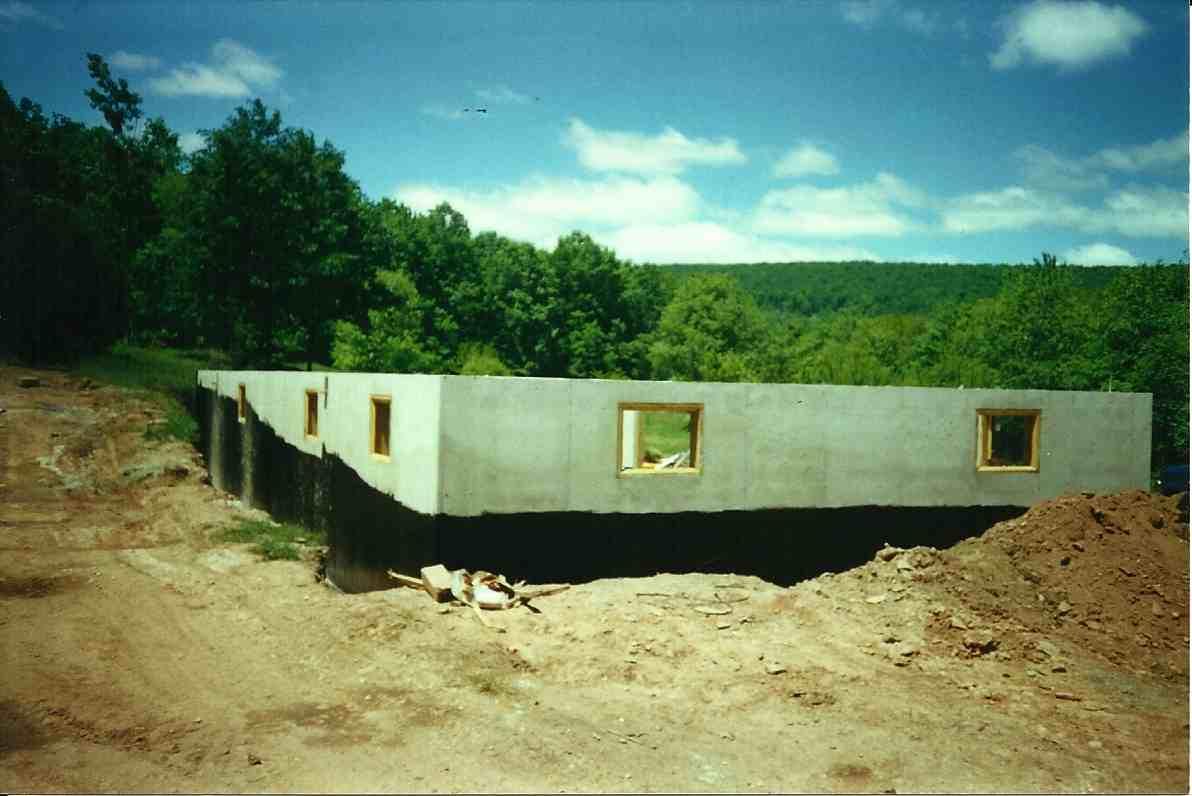 Poured Concrete Foundation Tar