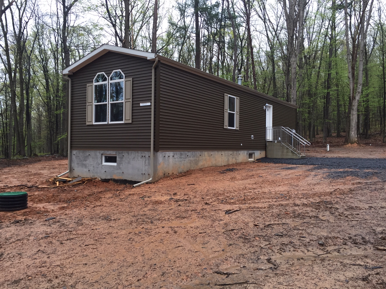 Singlewide Manufactured Home on Foundation