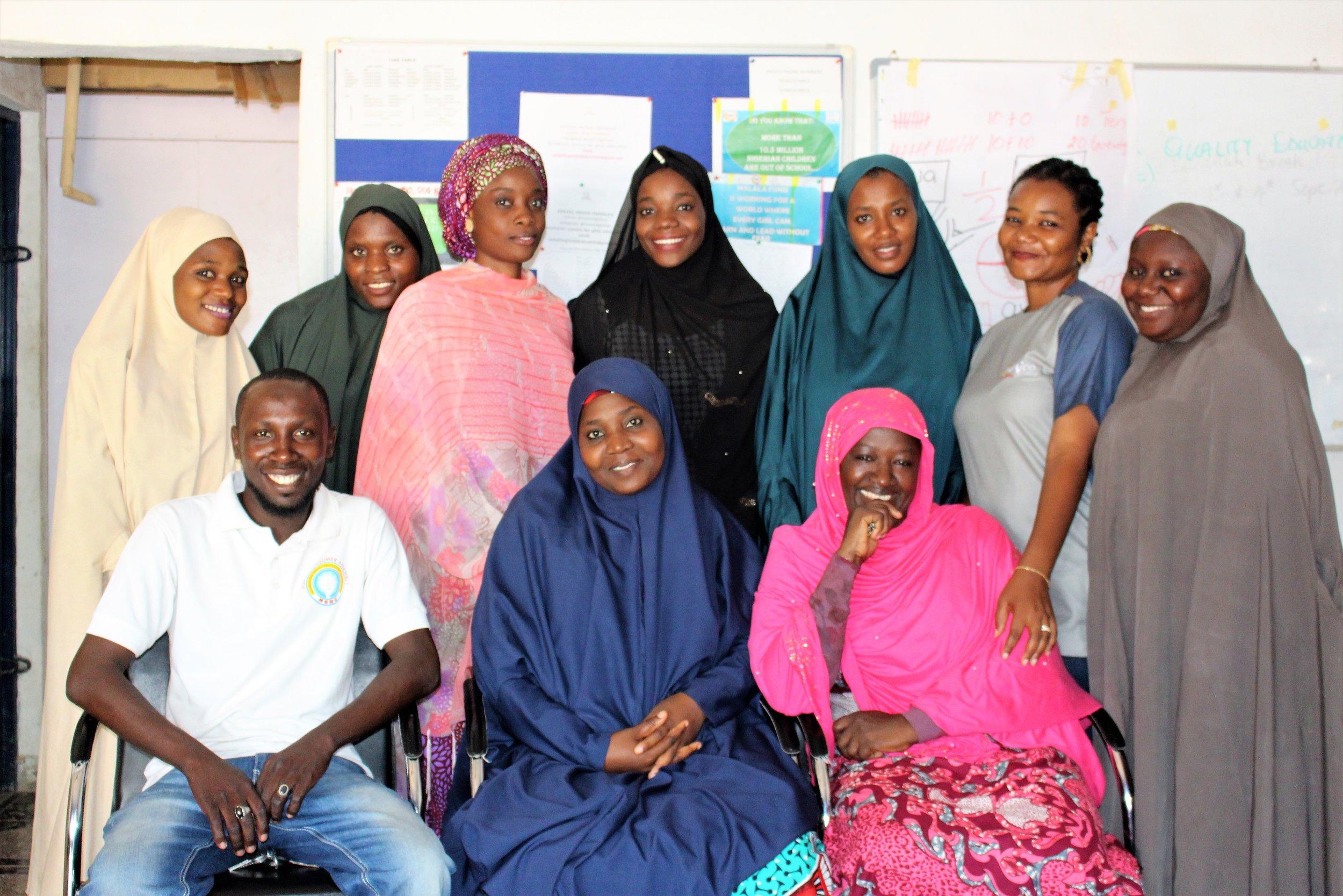 Girls for Health Team