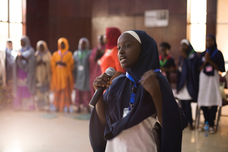 - Focus: To train 120 girls to organize and mobilize an advocacy campaign for educationImpact: 120 girls in Kaduna