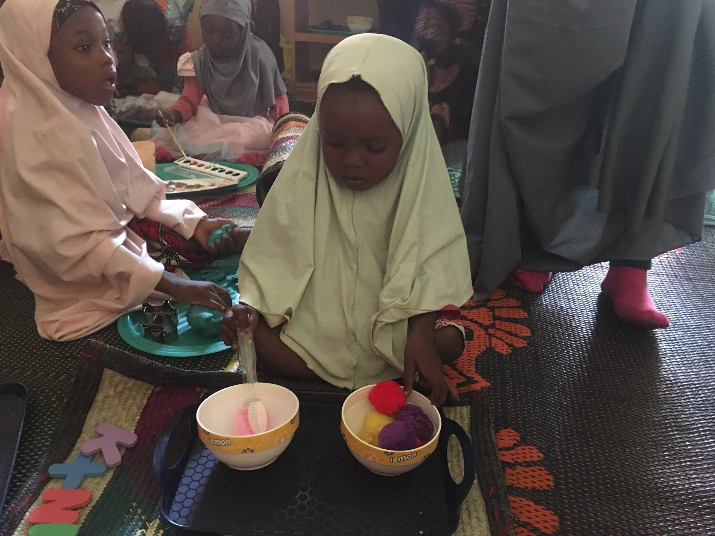 - Focus: To provide preschool spacesImpact: 147 girls in early childhood development circles in their own communities