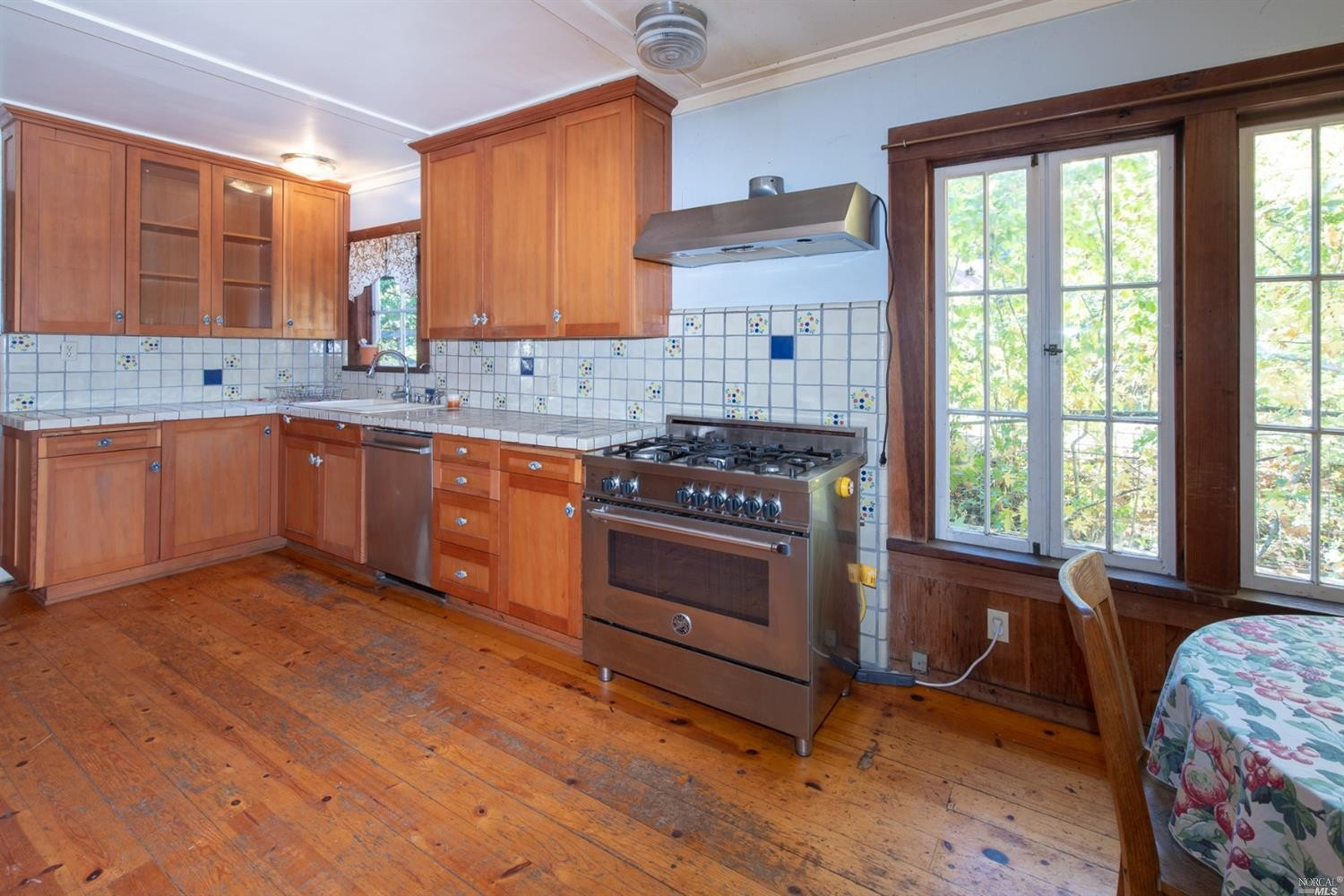 kitchen in a family home for sale, Philo, CA