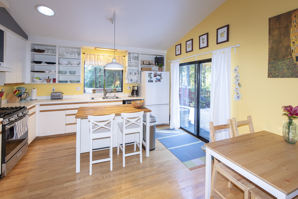 Kitchen in a house for sale in Philo, CA