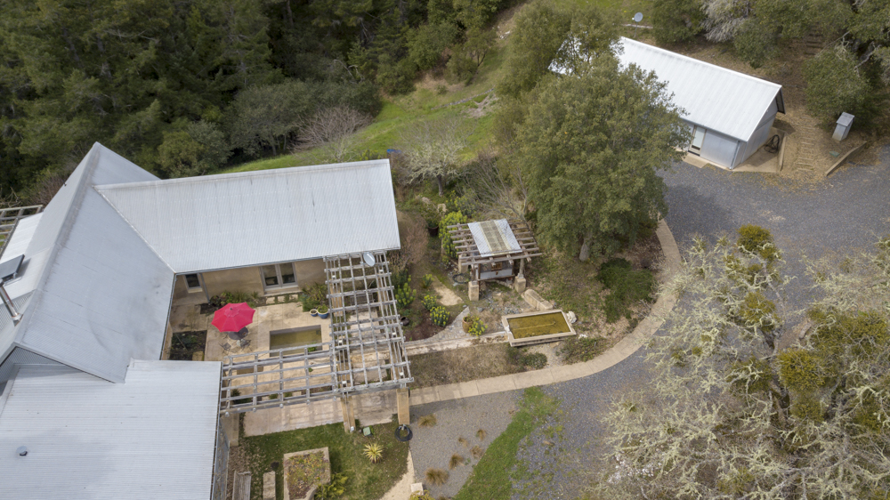 Overhead view of PISE constructed home.